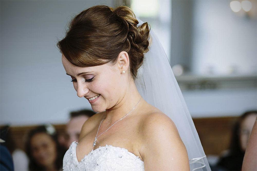 Bride Rachael close up