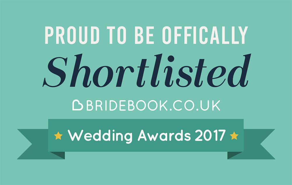 Bridebook Awards 2017 Nominee